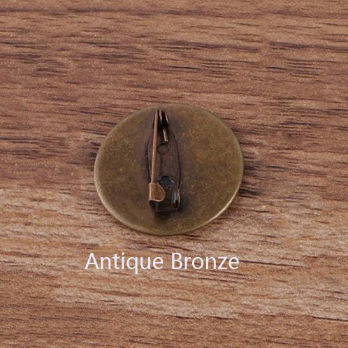 골동품 청동 - 20mm 자료 빈