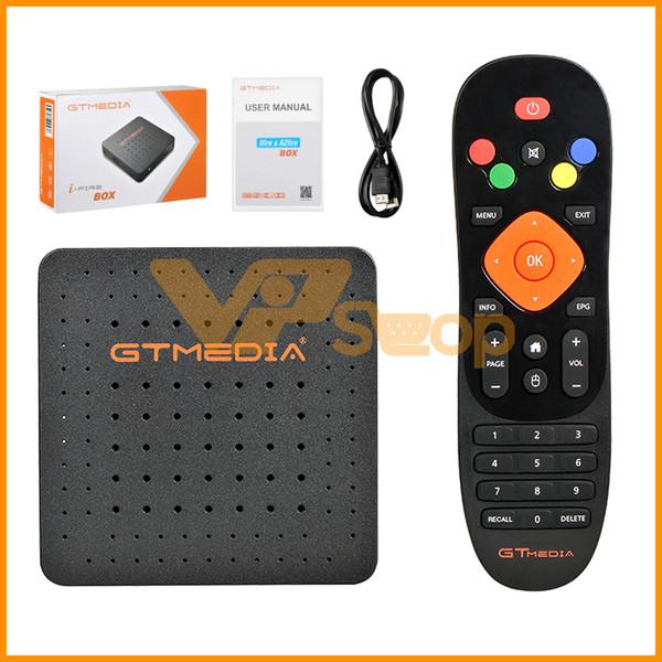 GTMedia iFire Box Super Receiver Built-in WiFi Full HD Smart Set Top Box iFire TV Box com IR Remore Controle