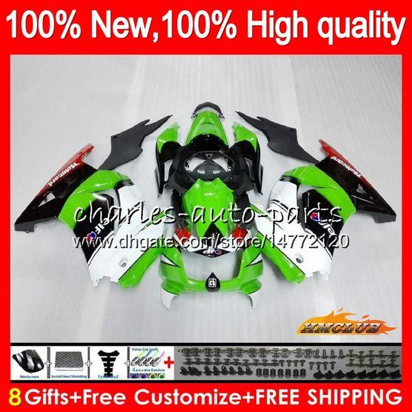 Corpo per Kawasaki ZX250R EX250 fabbrica EX250R verde 08 09 10 11 12 13HC.48 EX250 ZX 250R EX 250 ZX250R 2008 2009 2010 2011 2012 carenature