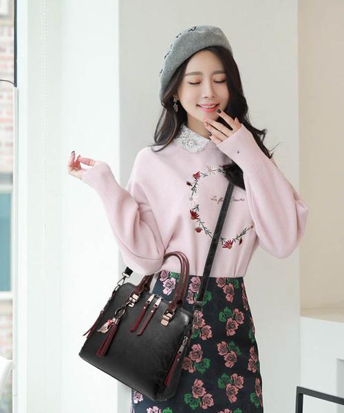 1Ladies Bag Autunno Inverno New Wave moda selvaggia borsa Semplice Tracolla Messenger