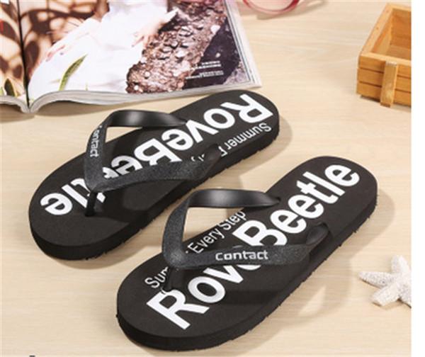 Flip Flops Designer Brand Thong Sandals Strand Casual Hausschuhe Jugendliche Flip Flops Beach Style Schuhe für Damen Designer