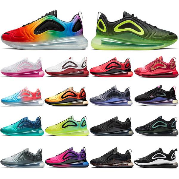 Nike Air Max 720 Con Calcetines NUEVO De Alta Calidad Be True Easter Pack Azul Obsidian Pride Noen Hombres Mujeres Zapatillas De Deporte Para Hombre