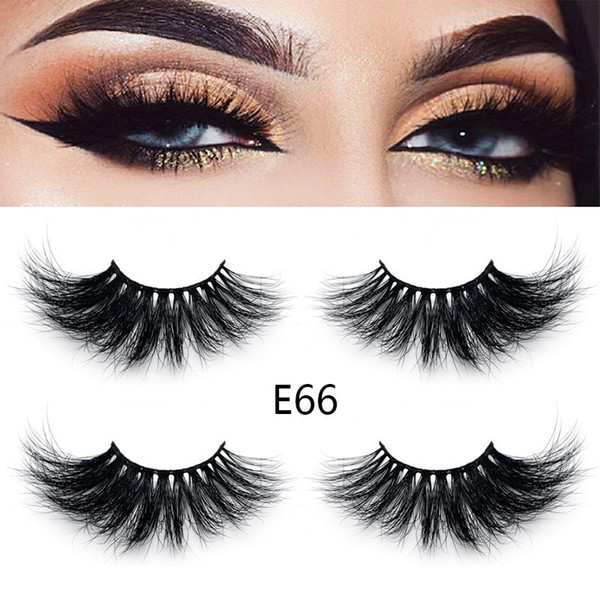 New 3d Mink Eyelashes Hot 25mm False Eyelashes Natural Soft Eyelash Extension Big Dramatic Mink Lashes Eye Makeup Tool Eyelash Adhesive Eyelash