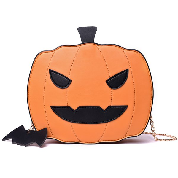 Designer-Fashion creativity Easter Pumpkin lamp handbags Women Easter Shoulder bag new designed gift