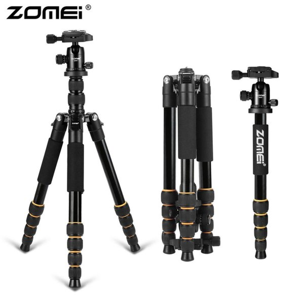 Zomei Professional Portable Travel Camera Tripod Lightweight Aluminum Monopod With 360 Degree Ball Head For DSLR Canon Camera