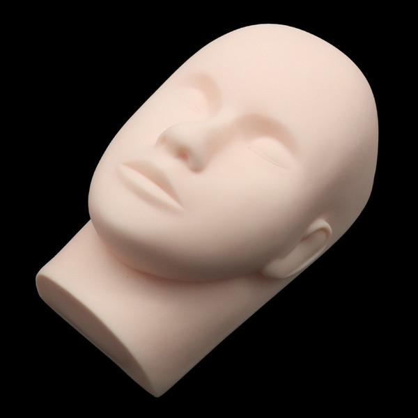 Make Up Training Mannequinkopf Modell - Womens Geschlossene Augen Makeup Wimpernverlängerung Übungspuppe Puppe Kopf