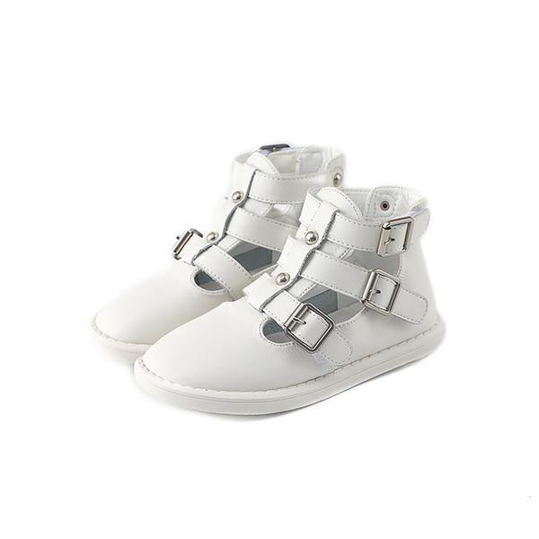 Bekamille herbst mädchen stiefel schuhe kinder mädchen prinzessin ausschnitte sandalen mode einfarbig säugling kinder jungen baby stiefel