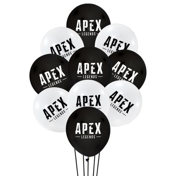 100pcs/set 12 inch apex legends Latex balloons Wedding Birthday Decoration Globos Baby Shower Girl Birthday Party Helium Balloon New Gift