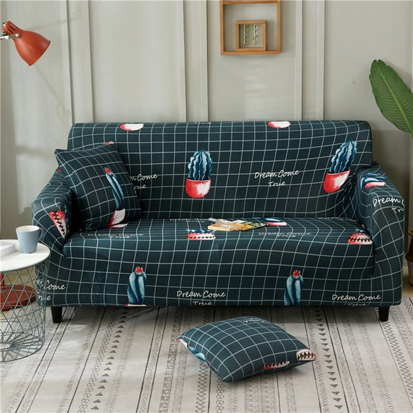 Astounding Cactus Slipcovers Sofa Covers Elastic All Inclusive Polyester Stretch Couch Cover Sofa Towel Cushion For Living Room39 Sofa Seat Covers Online Chair Uwap Interior Chair Design Uwaporg