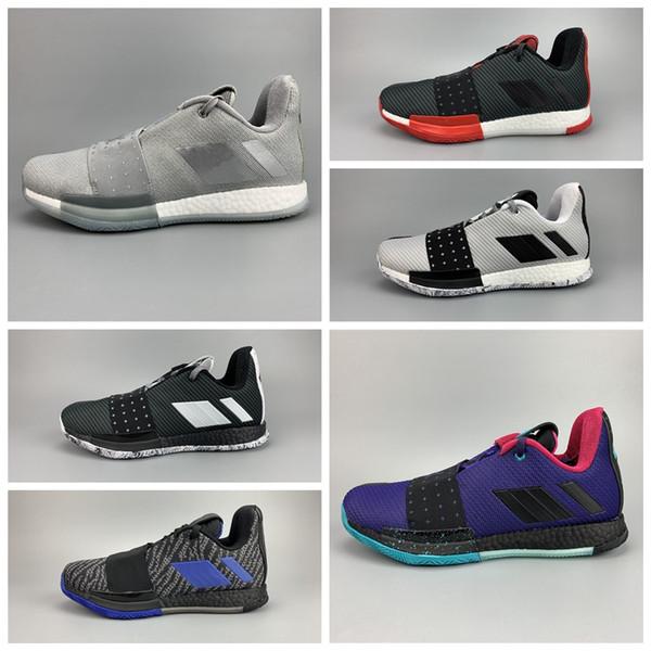 Nike Air Jordan 2019 New Arrive Harden 3 Vol.3 BHM Limited Bluish Green Zapatillas deportivas Venta barata 3S One Zapatillas de entrenamiento para hombre Talla 40-46