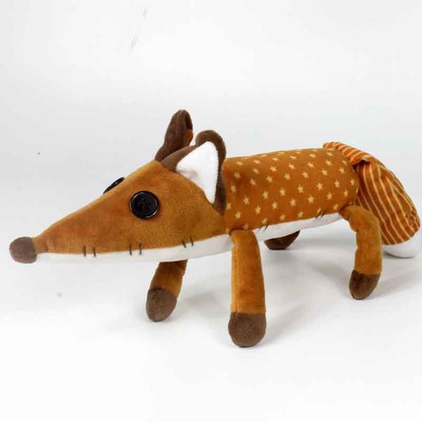 45cm The Little Prince Fox Plush Dolls Toy le Petit Prince stuffed animal plush education toys for baby kids Birthday/Xmas Gif C21