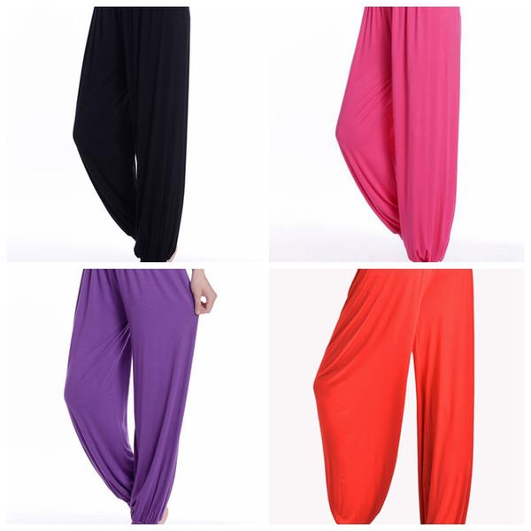 8 Новые штаны для йоги осень и зима модальные шаровары женские спортивные брюки кадриль одежда свободно приветствуем оптовиков купить