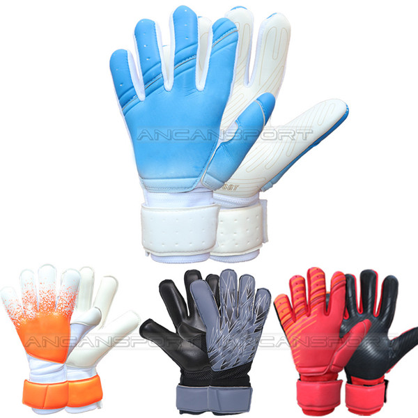best selling 2019 adult professional football soccer goalkeeper gloves with and without fingersave full latex zipper bag package