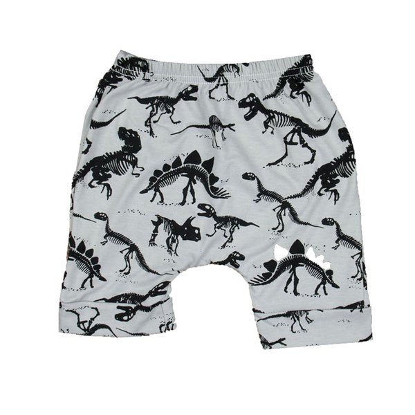 Crianças Designer de Roupas Shorts Harem Infantil Crianças Calça Jeans Colorido Lazer Animais Calças Padrão Cintura Elástica 42