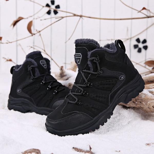 2019 Wintertrend hoch, um großen Outdoor-Sneakers mit warmen, rutschfesten, verschleißfesten Schneeschuhen zu helfen