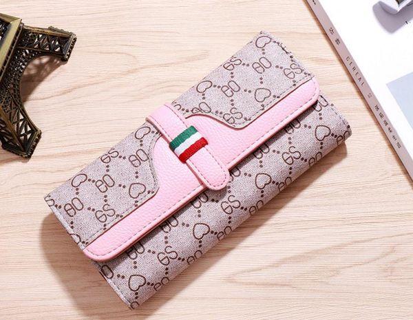 women's wallet female famous brand card holders cellphone pocket PU leather women money bag clutch women wallet