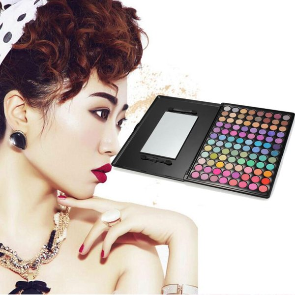 Beauty Mineral Cosmetics Pearlescent Eye Shadow Palette Colorful Flash Eye Shadow Brush 96 Color Palette Makeup Set Cosmetic Set