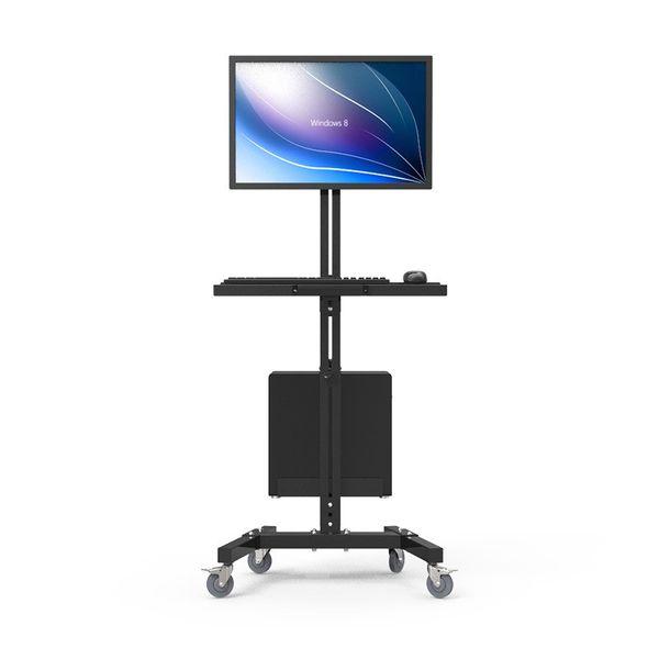 top popular Moving Sit-Stand Desk Workstation TV Mount PS Stand Medical Equipment Trolley Computer Host Keyboard Holder Bracket W833 2019