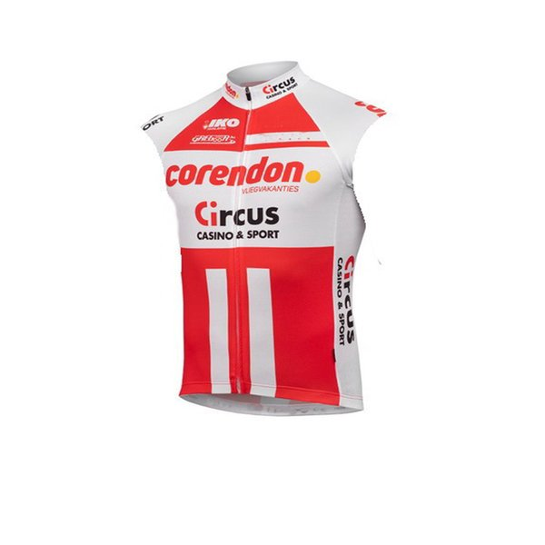 top popular SPTGRVO LairschDan 2019 CORENDON-CIRCUS TEAM cycling jersey man sleeveless jersey vest uniformes woman bike clothing 2020