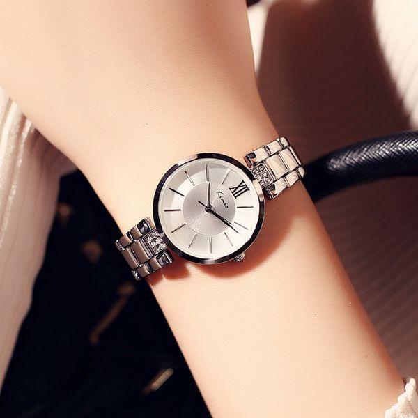 Brand Best Popular Wrist Watches For Ladies Women Couple Round Dial White Dress Clock Top Brand Watch montre Timepiece Dropship