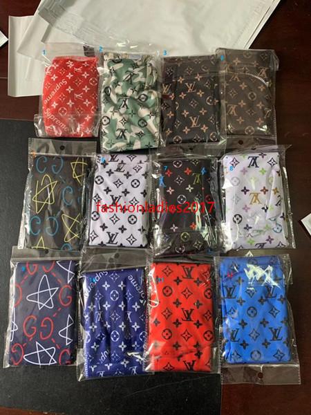 Durag Bandanas chaud (61 modèles) pour les hommes et les femmes de la mode Silky Durags Headwraps Hip hop Caps prix d'usine