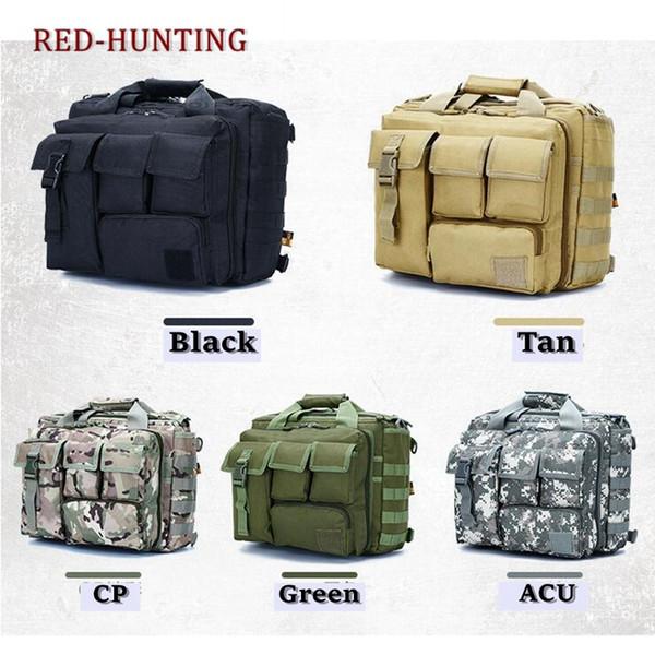 "Multifunction Mens Outdoor Tactical Nylon Shoulder Laptop Messenger Bag Briefcase Handbags Large Enough for 15.6"" Laptop/Camera #108829"