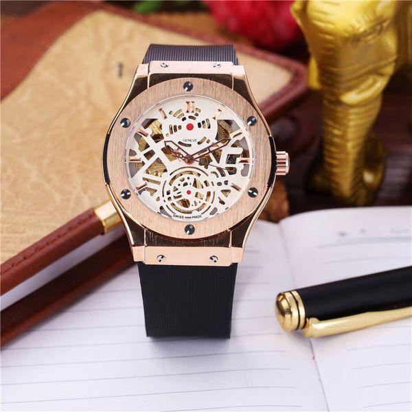 luxury designer brand mens watches Mechanical watch waterproof fashion business 18K local gold male watch watches men luxury brand men watch