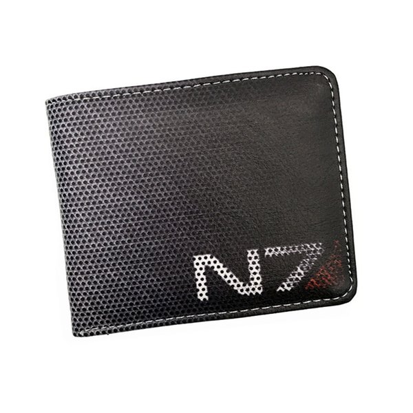 Gioco di trasporto libero Gioco Wallet Gioco Mass Effect / Skyrim Cool Coin Purse per Young Boy Girl Leather Short Money Bag