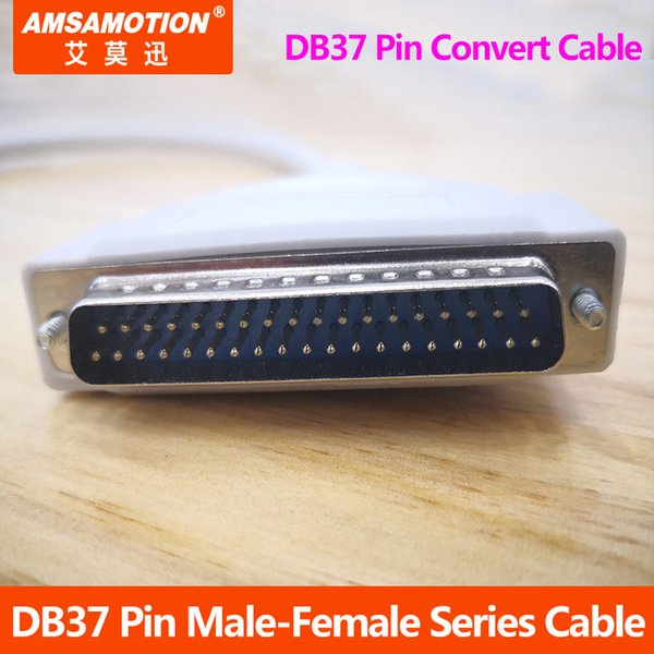 Удлинитель последовательного кабеля DB37 контакт между мужчинами и женщинами Преобразование кабеля передачи данных Кабель Проводник