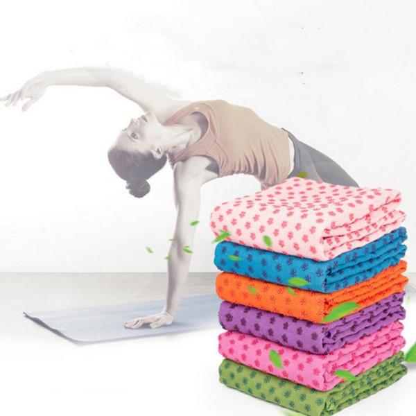 2019 mode verdickt yoga matte handtuch decke rutschfeste mikrofaser oberfläche rechteckigen teppich sofa decke teppiche t2i5174