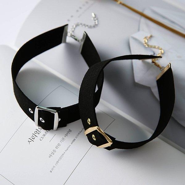 Collana popolare del choker di fascino della lega di Choker 3CM della nuova del popolare di disegno di alta qualità popolare delle donne fredde