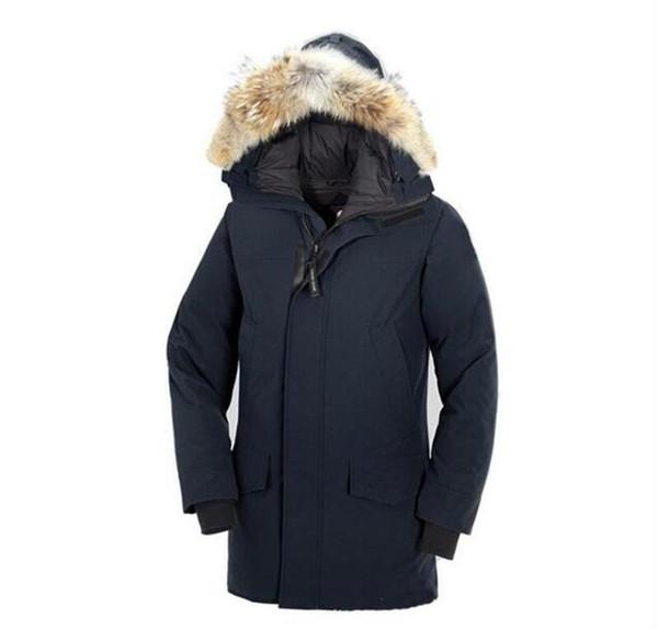 Erkek Açık Hava Sporları Aşağı Ceket EUR Size Windproof Suya Dayanıklı Ceket erkek Düşük Sıcaklığa Dayanıklı% 70 Beyaz Kaz tüyü Ceket