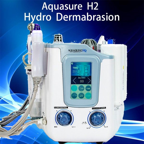3in1 Hydro Dermabrasion Hydro Facial Machine Peeling Diamond Diamond Microdermabrasion Machine Soins Faciaux Rajeunissement De La Peau conduit masque facial