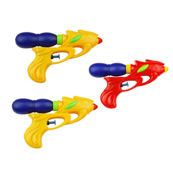 Water Gun Toys Solid Colored Plastic Best Selling Toy Beach Playing Children's Toy Water Gun in Summer
