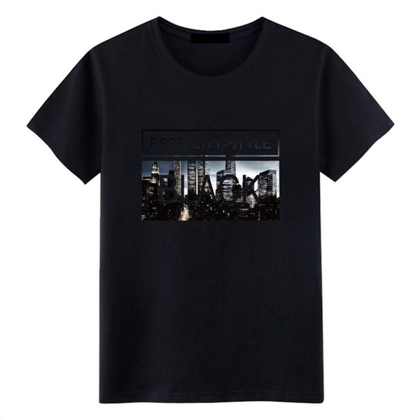 Vêtements pour hommes en été T-shirt à manches courtes pour hommes col rond imprimé chemise décontractée Self-cultivation Magazine Taille S-3XL
