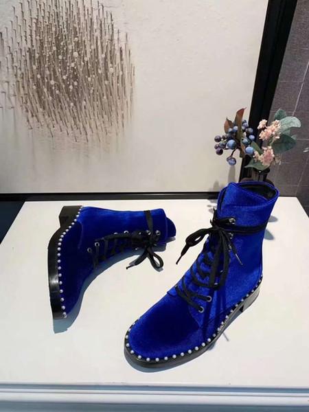 Exquisite2019 autunno donne di inverno e stivali Original Design e qualità perfetta Snow Boots Genuine Leather Martin Boots U9900