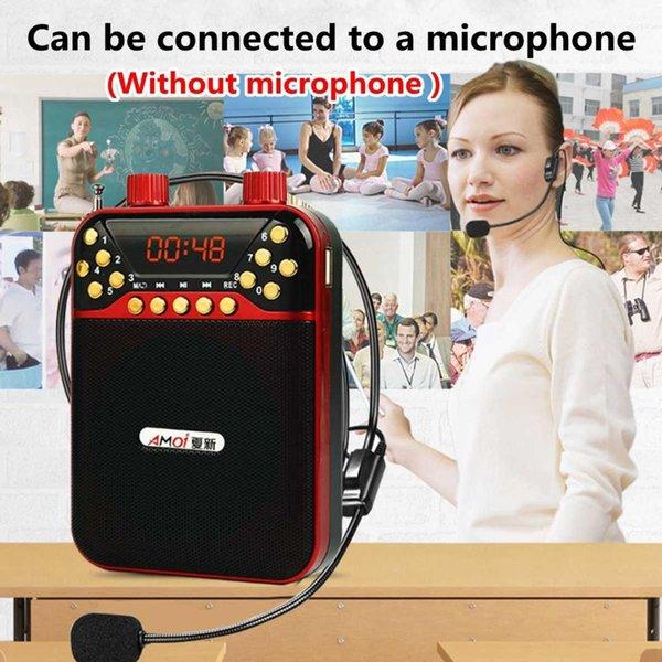 المحمولة FM TF USB طويل هوائي الراديو صوت ستيريو رئيس سماعات ث / البطارية