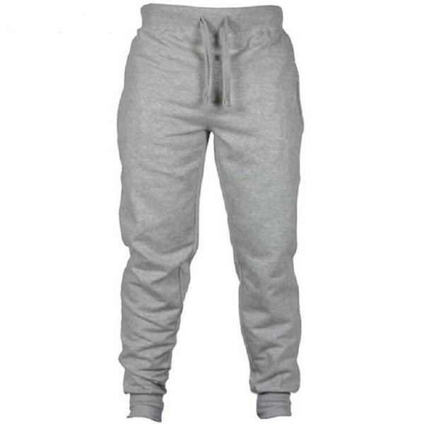 best selling Autumn Jogger Pants Men Fitness Bodybuilding Pants For Runners Clothing Autumn Sweat Black Gray Trousers Pants
