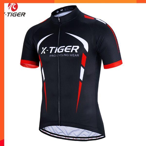 X-tigre 2019 100% Poliéster Camisa de Ciclismo Verão Mountain Bike Roupas Maillot Roupas de Corrida de Bicicleta Roupas de Ciclismo