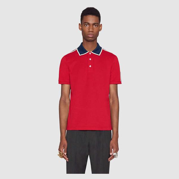 Maglietta polo 3g vb Italia t shirt a maniche corte con stampa floreale a righe polo moda polo stampa polo