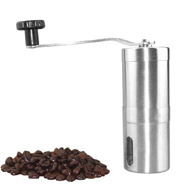 Portable Stainless Steel Hand grinding Machine Coffee Bean Grinder Manual Grinder Coffee Maker Machine Hand Pepper Grinder