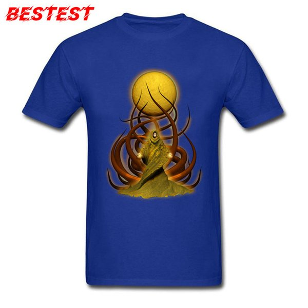 2019 men s designer clothing tshirt Lovecraft T Shirt thulhu Tshirt Cotton Fabric Tops Tees for Men Summer T shirts Group Prevalent sweaters