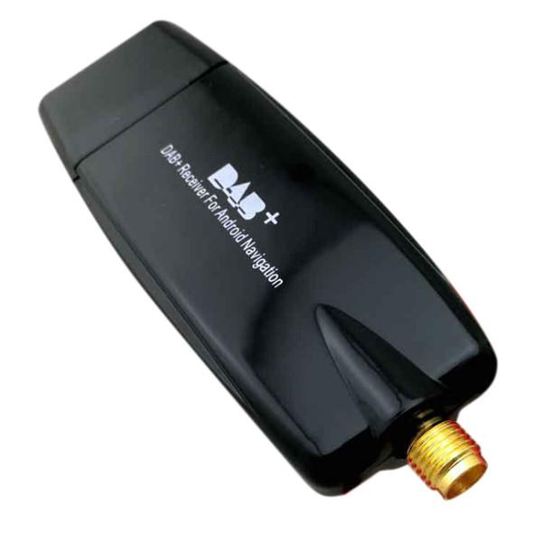 자동차 DAB 안테나와 USB 어댑터 수신기 안드로이드 4.4 5.1 6.0 7.1 자동차 플레이어