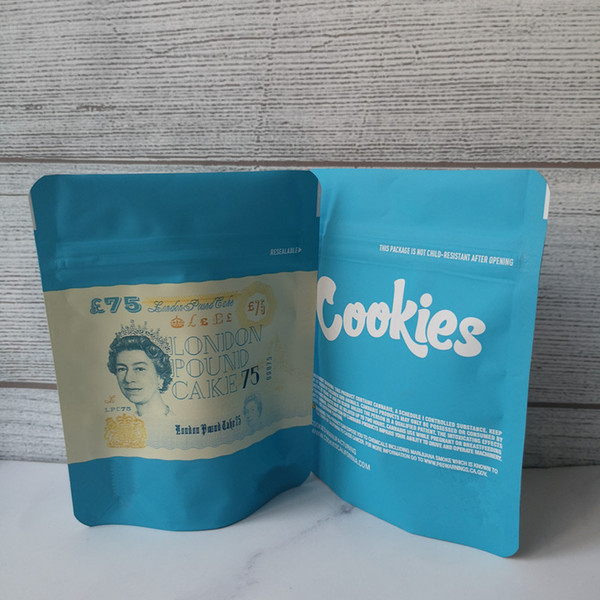 London pound 75 cookies bags