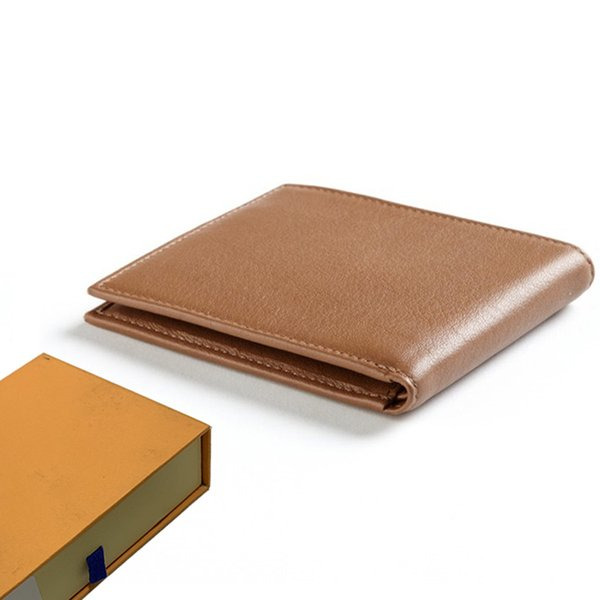 wallet designer wallet mens luxury wallet business purse men wallets designer luxury handbags purses women purses with orange box 52105