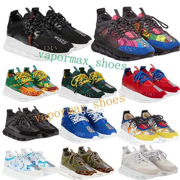 Chain Reaction 6cm Medusa Shoes RP Foam Outsole Sneakers Trainer Non-slip Casual For Men Women Fabrics Craftsmanship With Dust Bag