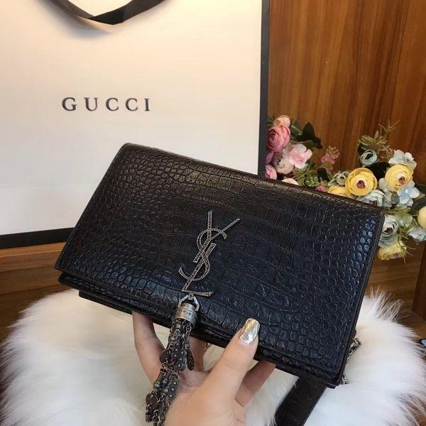 Handbags women bags fashion luxury designer bags Messenger Bag Crossbody totes 2019 Lady Preferred 23.15cm Unique tassel