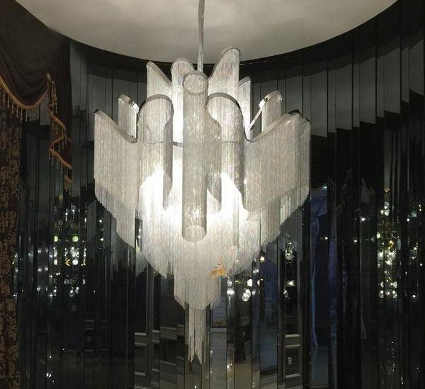 Stream chain Tassel Living Room lamp LED bedroom wall light living Room decor
