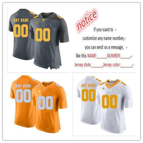 Cheap custom Tennessee Volunteers Men's College football jersey Customized College Football Jersey Any name number Stitched Jersey XS-5XL