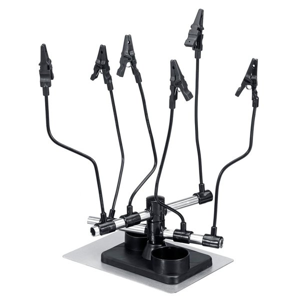 Hot Sale Airbrush Holder Stand Station Airbrush Holder Spray Parts Clips for Model Color Paint Spray Clip Tool